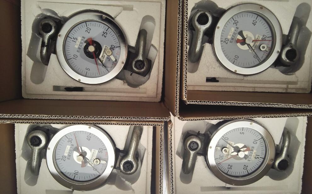 油田机械用10千牛拉力表_可自由转动的指针测力计